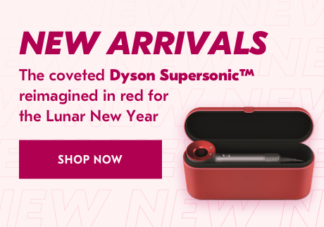 New arrivals.   The coveted Dyson Supersonic™ reimagined in red for the Lunar New Year.