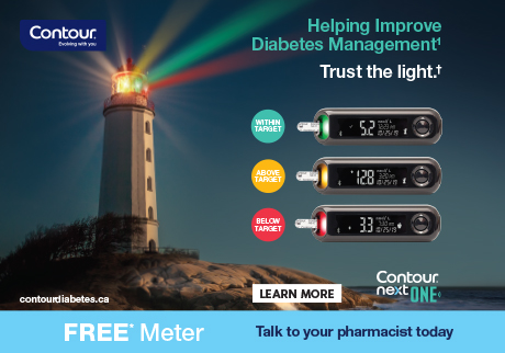 FREE CONTOUR®NEXT ONE or CONTOUR®NEXT meter with purchase of CONTOUR®NEXT test strips