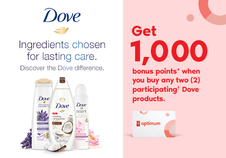 Ingredients chosen for lasting care Discover the Dove difference.