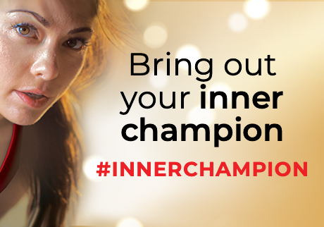 Bring your inner champion. #InnerChampion
