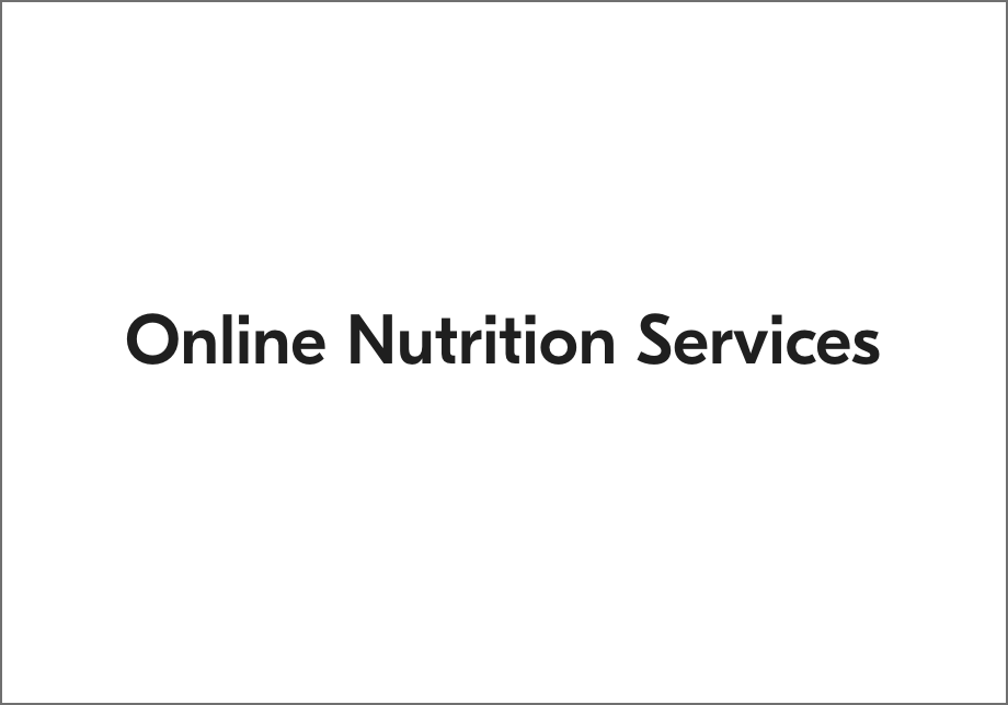 Online Nutrition Services