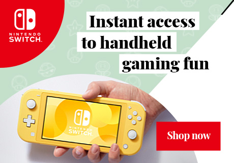 The Nintendo Switch Lite system. Instant access to handled gaming fun. Shop now.