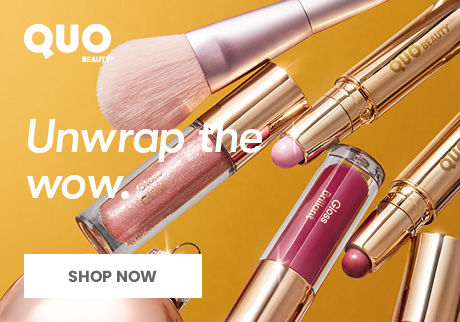 Unbox holiday magic with Quo Beauty.  The Quo Beauty Holiday collection has something for every beauty wish list, big or small.  Shop now