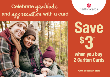 It feels good to feel grateful. Celebrate gratitude and the people you appreciate with a card!