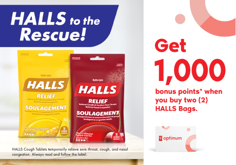 Halls to the rescue! Halls bags.