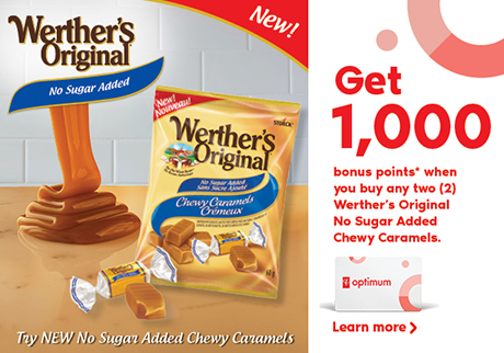 Try New No Sugar Added Chewy Caramels.