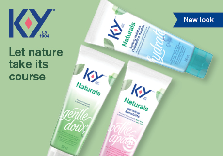 K-Y Naturals has a new look. Let nature take its course with our original, extra-moisture and sensitive formulations.