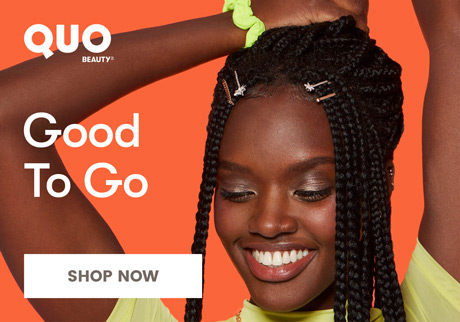 Good To Go. Get spring ready with Quo Beauty. Shop now.