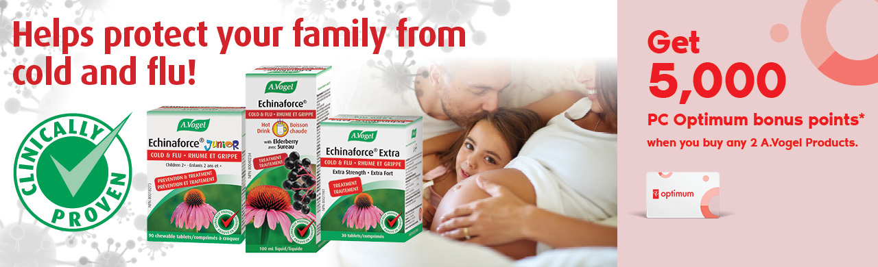 Optimize your family's immune health with clinically proven Echinaforce. Can be safely taken daily for prevention up to 4 months.
