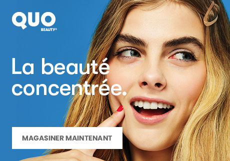 Quo Beauty. La beauté concentrée. Magasiner Maintenant.