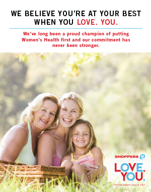 Shoppers LOVE.YOU.