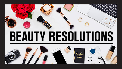 17 BRILLIANT BEAUTY RESOLUTIONS TO MAKE FOR 2017