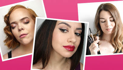 TREND TAKEOUT: GLOSSY MAKEUP THREE WAYS