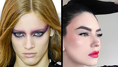 RUNWAY TO REALITY: THE '80s MAKEUP TREND
