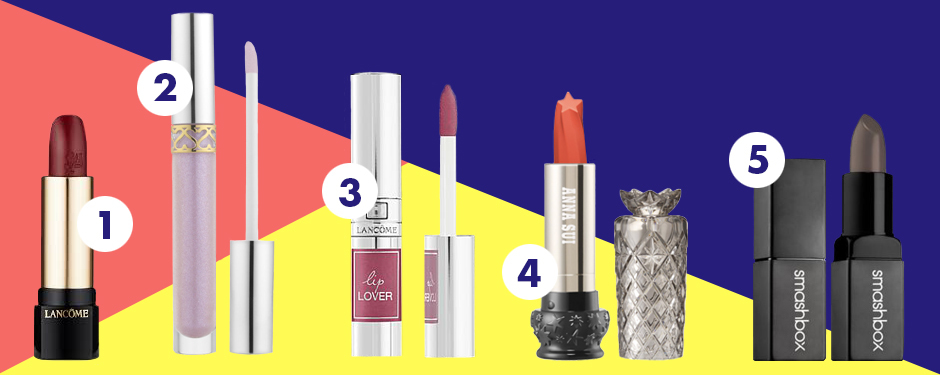 TAKE 5: 2017'S MOST UNEXPECTED LIPSTICK TRENDS
