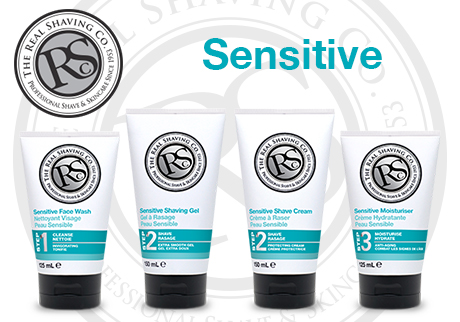 Developed for sensitive skin