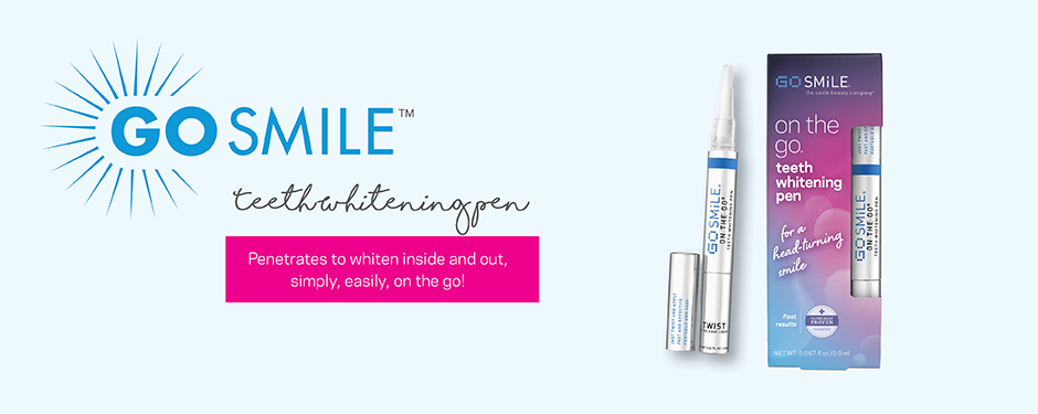 Award-winning on the go teeth whitening pen.