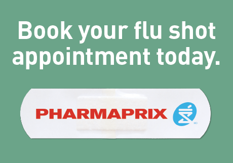 Book your flu shot appointment today