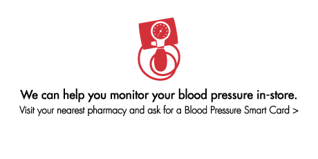 Monitor your blood pressure in-store.