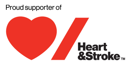 Click here for more information on Heart & Stroke Foundation