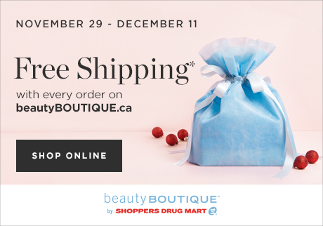 Free Shipping at beautyBOUTIQUE.ca