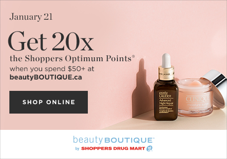 Get 20x the Points Online