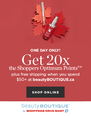 Get 20x the Points When You Spend $50