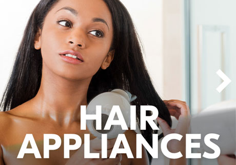 The latest hair appliances
