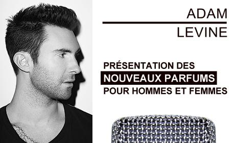 Adam Levine Nouveaux Parfums