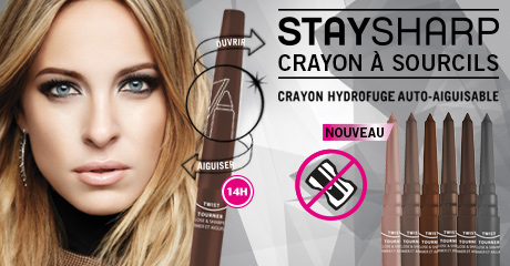 Crayon à sourcils hydrofuge Stay Sharp