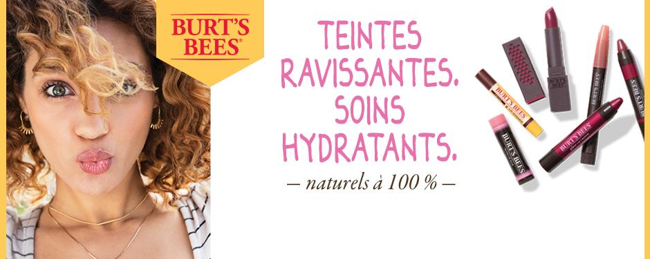 Teintes ravissantes. Soins hydratants. Produits teintés pour les lèvres naturels à 100 %