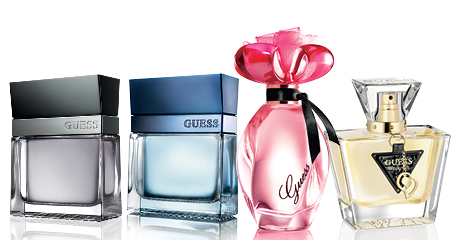 La collection de parfums Guess