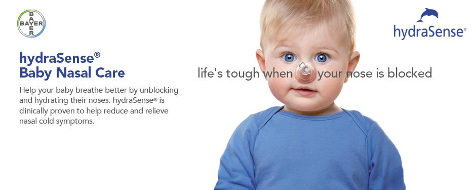 hydraSense® Baby Nasal Care