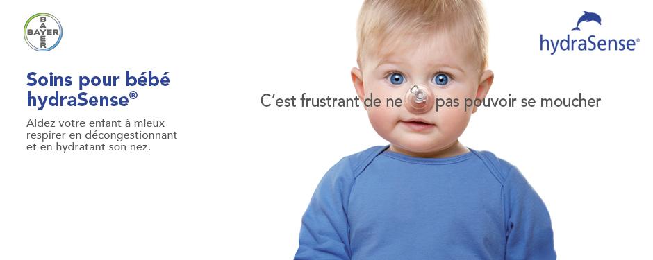 hydraSense® Soins pour Bébé