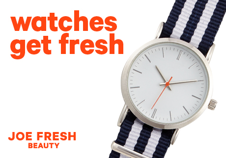Watches get Fresh