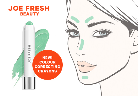 Neutralize redness with green
