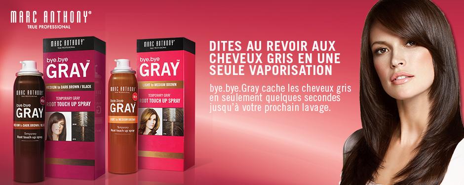 Dites au revoir aux cheveux gris en une seule vaporisation
