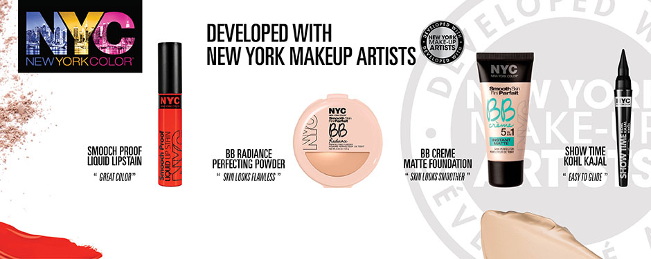 Developed With New York Makeup Artists