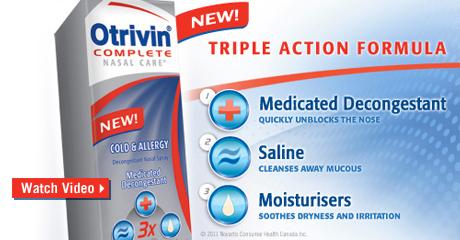 NEW! Otrivin® Complete