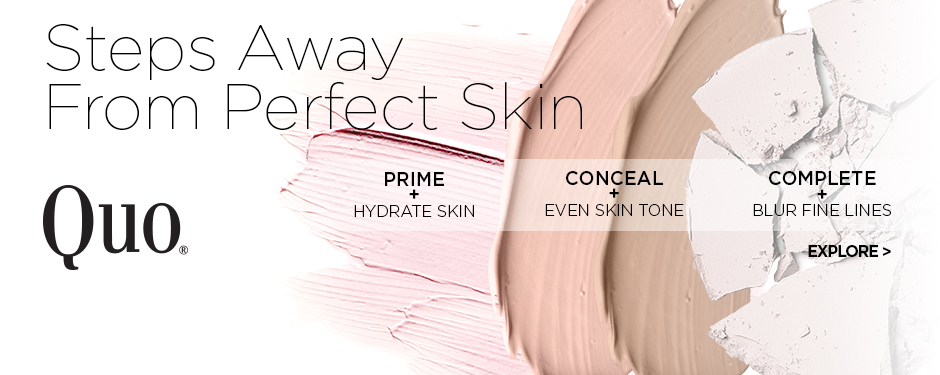 Steps away from perfect skin