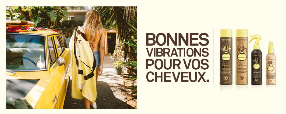Bonnes vibrations pour vos cheveux