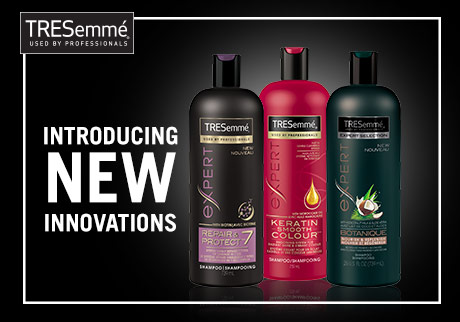 TRESemmé's NEW innovation products