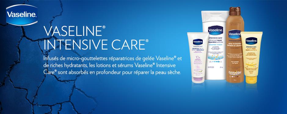 Réparez la peau sèche avec Vaseline Intensive Care