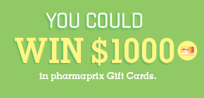 You could WIN $1000 in Pharmarpix Gift Cards!