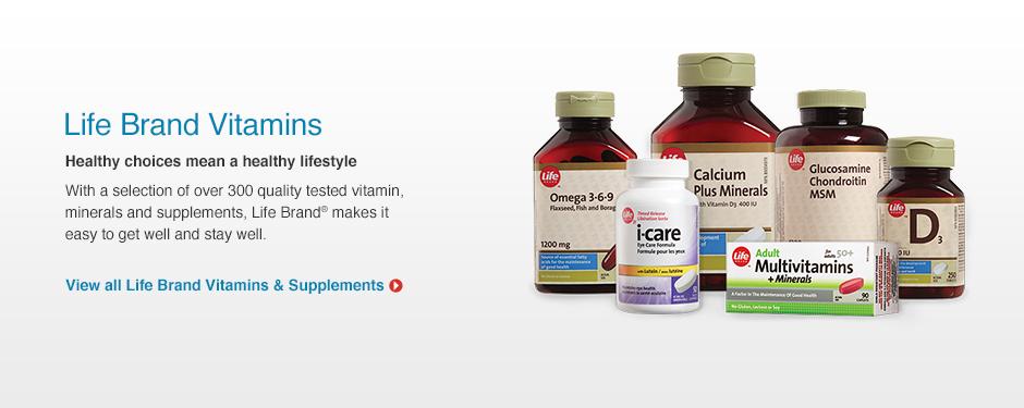 Life Brand Vitamins Shoppers Drug Mart