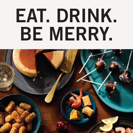 Eat. Drink. Be Merry.