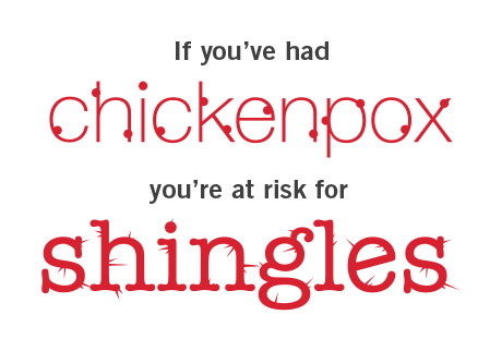 Help protect yourself from shingles.*