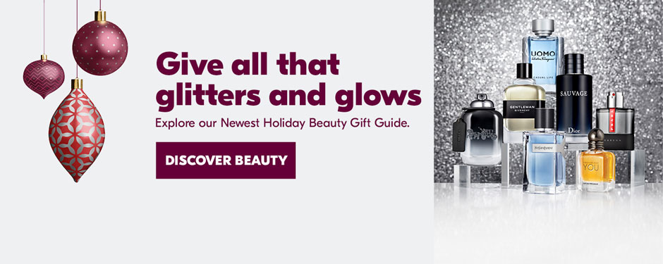 Give all that glitters and glows. Explore our Newest Holiday Beauty Gift Guide
