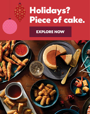 Holidays? Piece of cake.