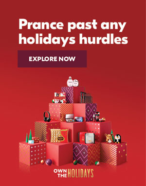 Prance past any holidays hurdles